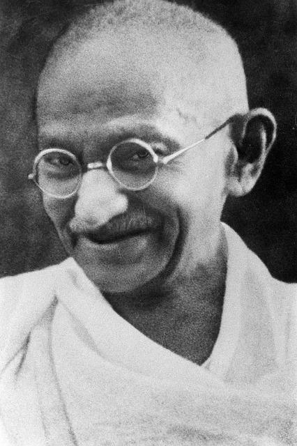 10 citations inspirantes de Mahatma Gandhi